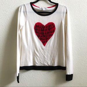 Diane von Furstenberg Jillna Heart Sweater